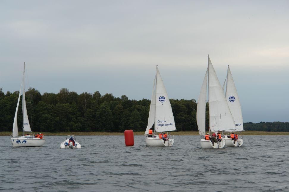 Przeglądasz zdjęcia w artykule: IX Puchar Polski Żeglarzy Niepełnosprawnych IV Edycja 21 - 23 września 2012