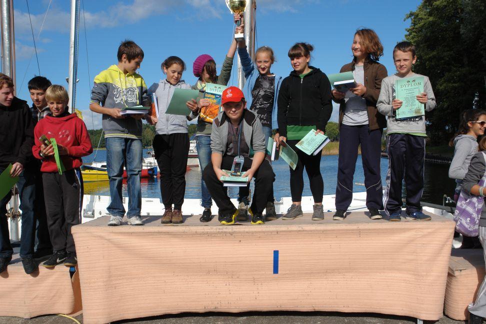 Przeglądasz zdjęcia w artykule: X Młodzieżowe Regaty DZ 24 września 2012