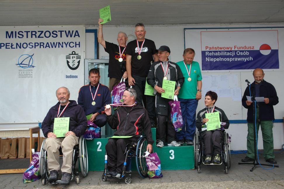 Przeglądasz zdjęcia w artykule: XIX Mistrzostwa Polski Żeglarzy z Niepełnosprawnością 24-27 czerwca 2013