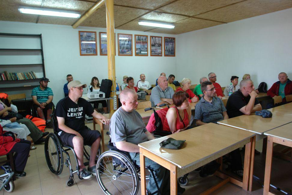 Przeglądasz zdjęcia w artykule: II Warsztaty Żeglarskie dla Osób Niepełnosprawnych 15 - 28 lipca 2013