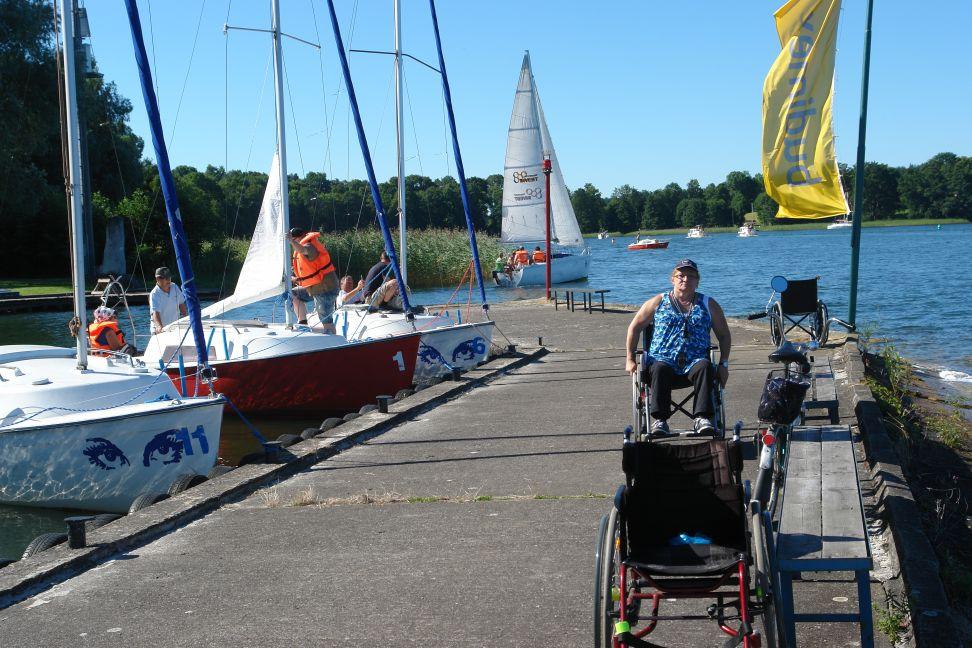 Przeglądasz zdjęcia w artykule: III Warsztaty Żeglarskie dla Osób Niepełnosprawnych 29 lipca - 11 sierpnia 2013