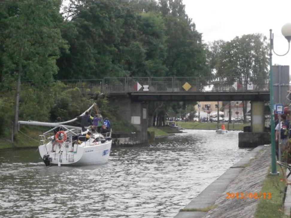 Przeglądasz zdjęcia w artykule: Obóz żeglarski Podkarpackiego Stowarzyszenia Aktywnej Rehabilitacji 11 - 18 sierpnia 2013