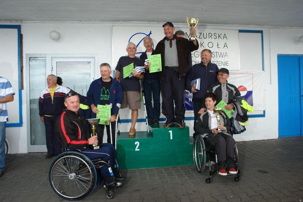 Przeglądasz zdjęcia w artykule: X Puchar Polski Żeglarzy z Niepełnosprawnością III Edycja 30 sierpnia – 01 września 2013