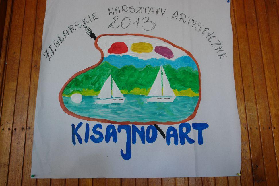 Przeglądasz zdjęcia w artykule: Żeglarskie Warsztaty Artystyczne  6 – 8 września  2013