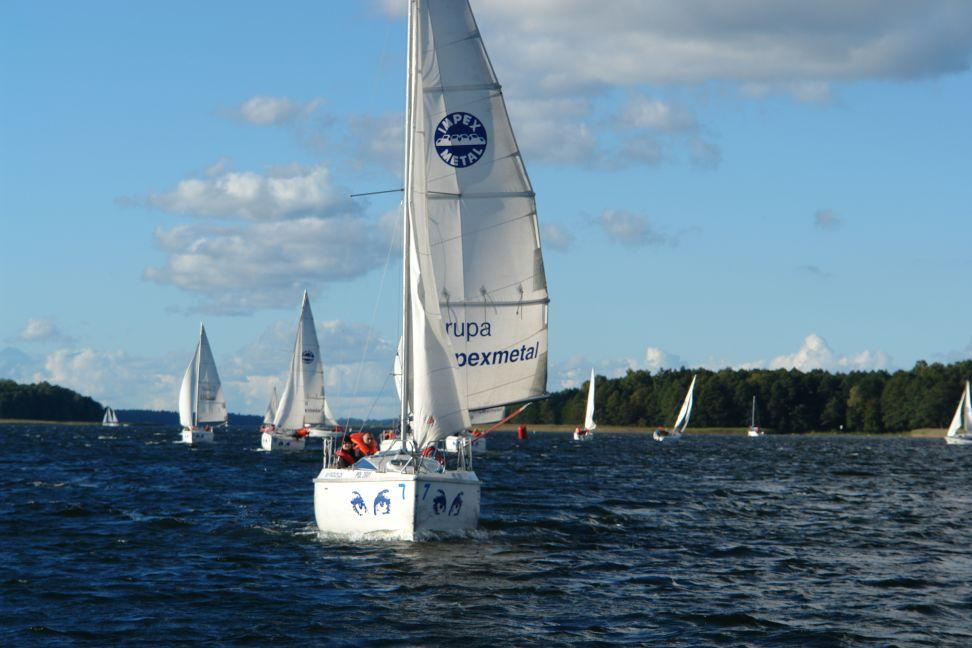 Przeglądasz zdjęcia w artykule: Mistrzostwa Polski Niesłyszących w Żeglarstwie 20 - 23 września 2013
