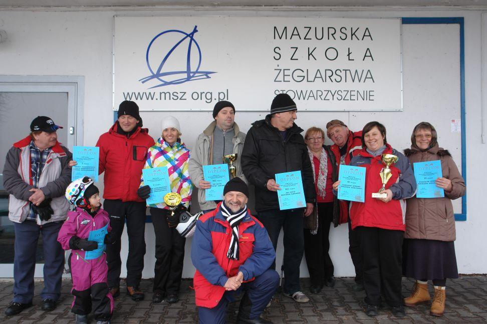 Przeglądasz zdjęcia w artykule: VIII Puchar Mazurskiej Szkoły Żeglarstwa w klasie Monotyp XV - 2 marzec 2014