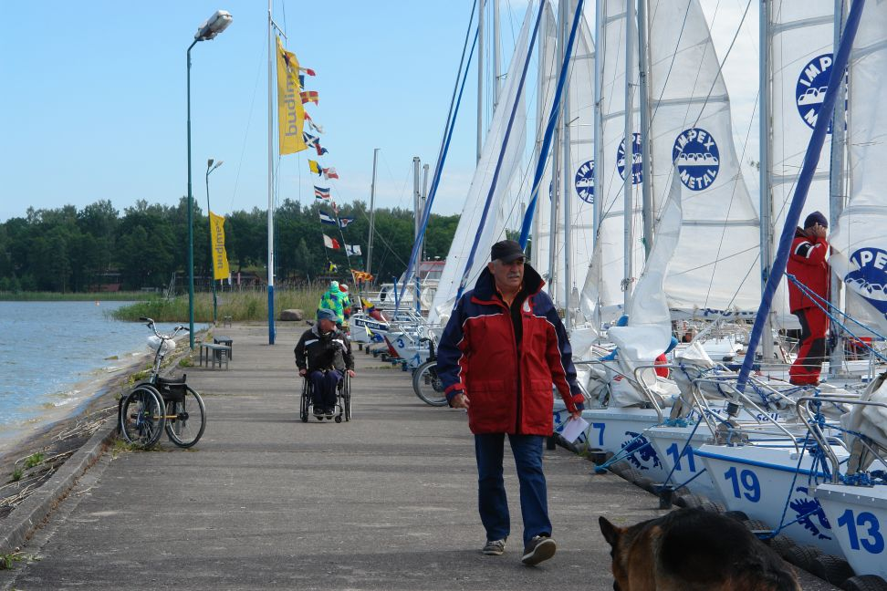 Przeglądasz zdjęcia w artykule: XX  Mistrzostwa  Polski  Żeglarzy z Niepełnosprawnością 21 – 26 czerwca 2014