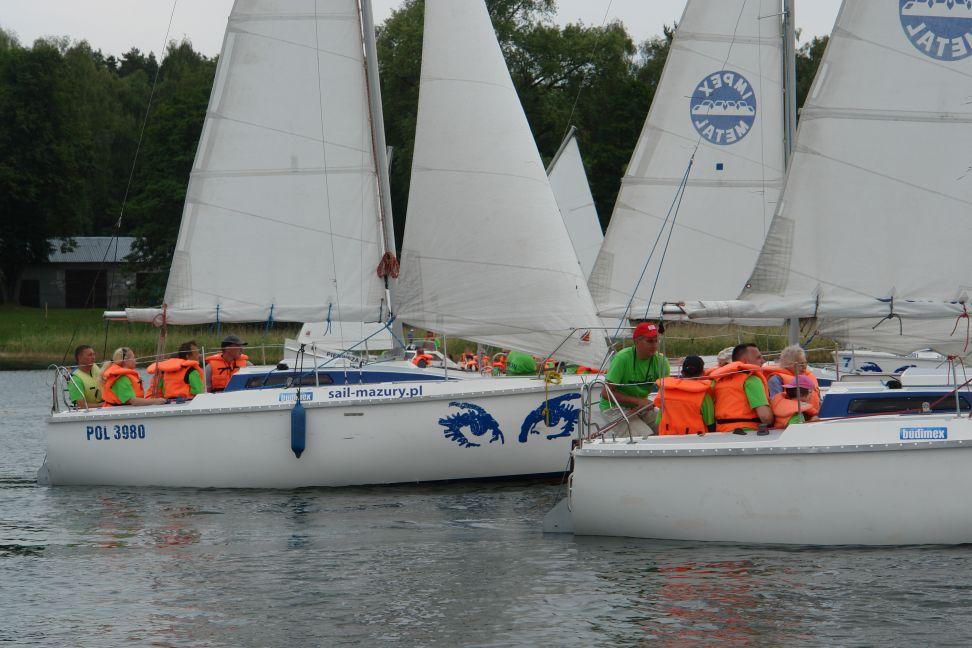 Przeglądasz zdjęcia w artykule: X  Festiwal Sportów Wodnych Osób Niepełnosprawnych 27 - 29 czerwca 2014