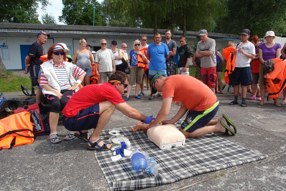 Przeglądasz zdjęcia w artykule: I Warsztaty Żeglarskie  Osób Niepełnosprawnych  1 – 14 lipca 2014 r.