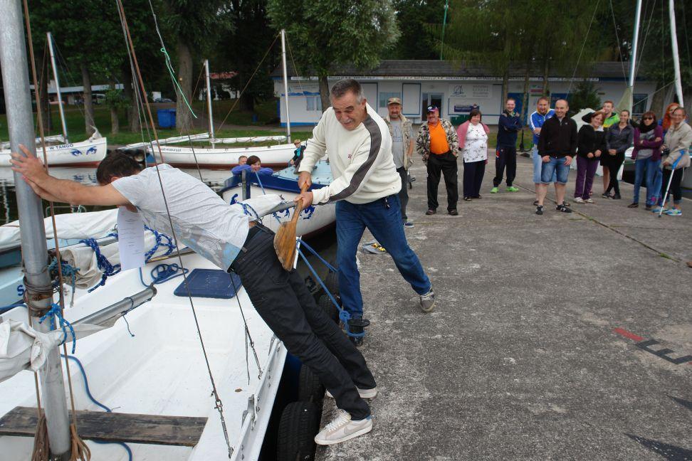 """Przeglądasz zdjęcia w artykule: II """"Sprawni żeglarze"""" - Warsztaty Sportowo-rehabilitacyjne 12 – 25 sierpnia 2014 r."""