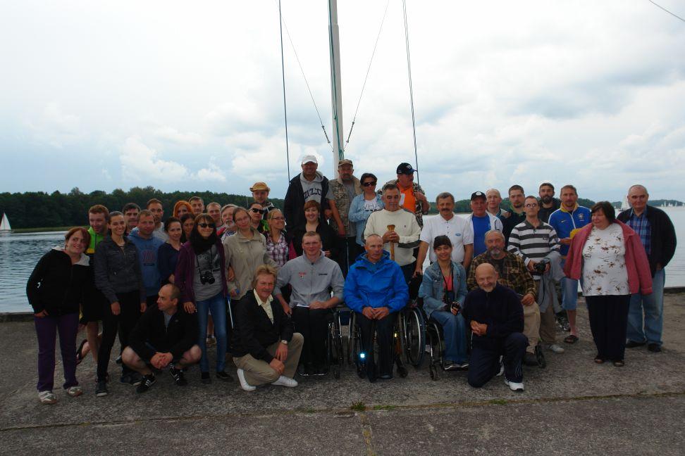 Przeglądasz zdjęcia w artykule: IV Warsztaty Żeglarskie Osób Niepełnosprawnych 12 – 25 sierpnia 2014 r.