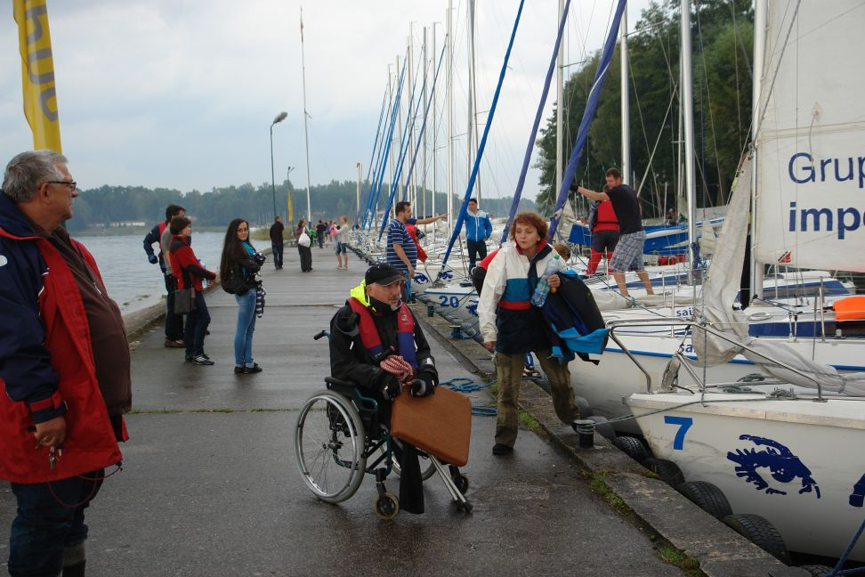Przeglądasz zdjęcia w artykule: XI Puchar Polski Żeglarzy z Niepełnosprawnością II edycja 29  – 31 sierpnia 2014 r.