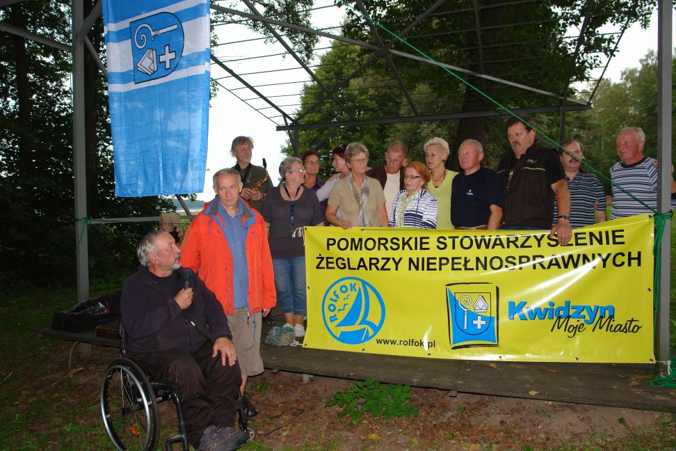Przeglądasz zdjęcia w artykule: II Żeglarskie Mistrzostwa Makroregionu Pomorskiego Niepełnosprawnych  8 – 12 września 2014 r.