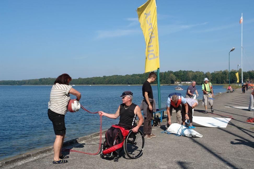 Przeglądasz zdjęcia w artykule: XI Puchar Polski Żeglarzy z Niepełnosprawnością III Edycja 12 – 14 września 2014 r.