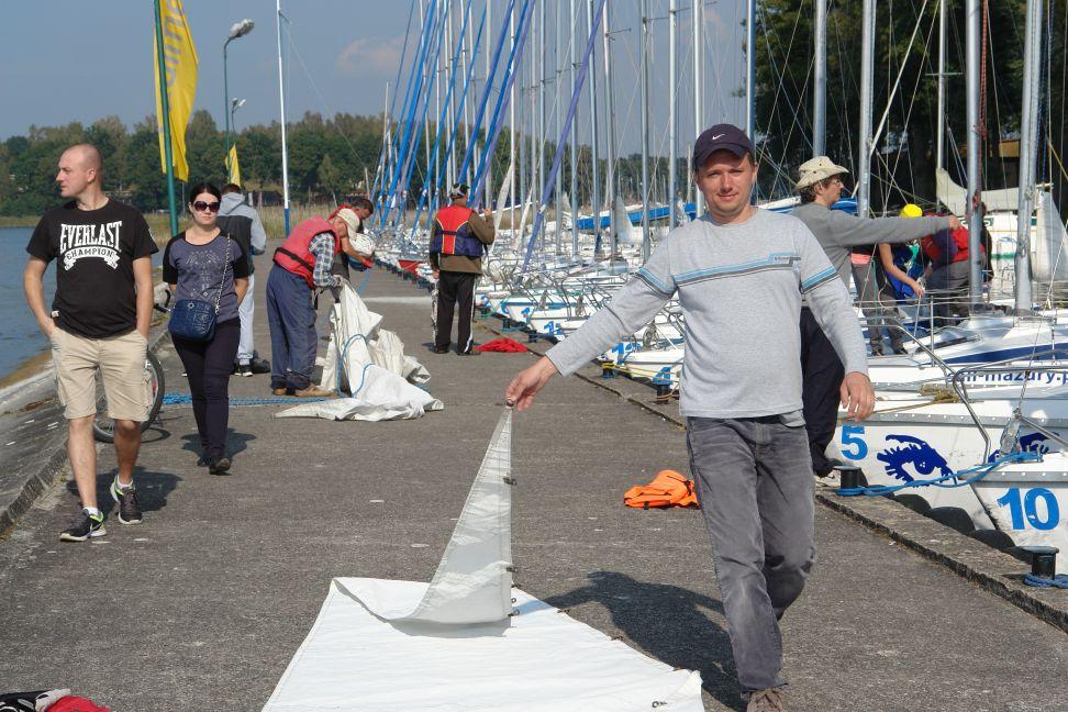 Przeglądasz zdjęcia w artykule: Mistrzostwa Polski Niesłyszących w Żeglarstwie 19 - 22 września 2014