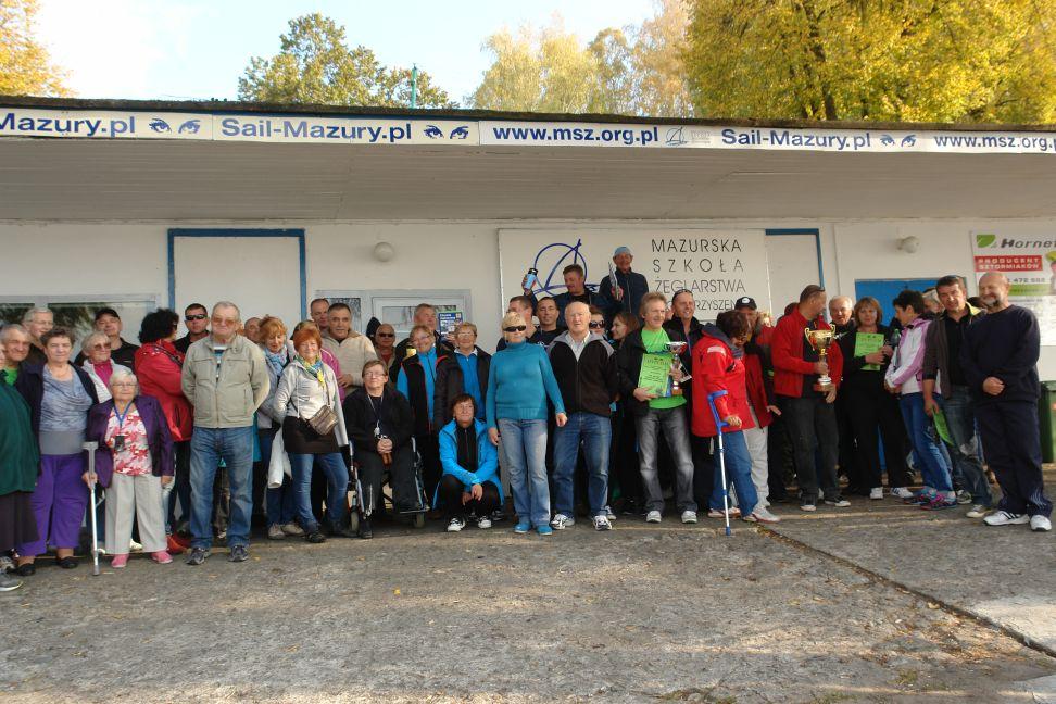 Przeglądasz zdjęcia w artykule: XI Puchar Polski Żeglarzy z Niepełnosprawnością IV Edycja 3 – 5 października 2014 r.