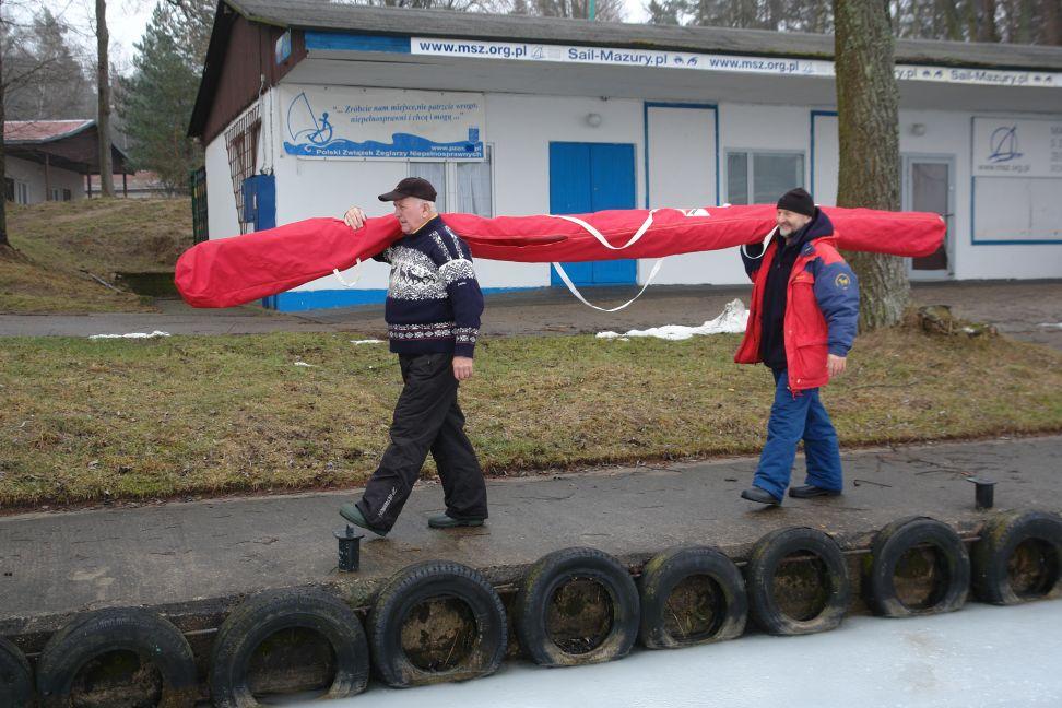Przeglądasz zdjęcia w artykule: VIII Otwarte Bojerowe Mistrzostwa Polski  Żeglarzy z Niepełnosprawnością 28 luty 2015 r.