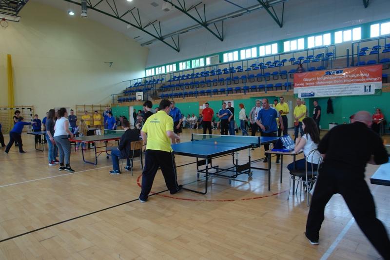 Przeglądasz zdjęcia w artykule: VII Giżycki Turniej Tenisa Stołowego Osób Niepełnosprawnych Połączony z Żeglowaniem  8 - 10.05.2015