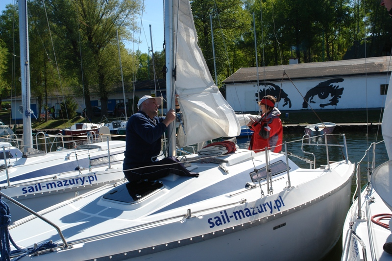 Przeglądasz zdjęcia w artykule: XII Puchar Polski Żeglarzy z Niepełnosprawnością I Edycja 15 - 17 maja 2015 r.