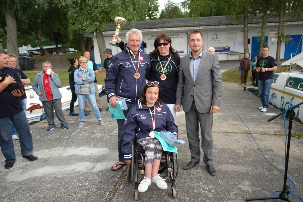 Przeglądasz zdjęcia w artykule: XXI  Mistrzostwa  Polski  Żeglarzy z Niepełnosprawnością 22 – 25 czerwca 2015 r.