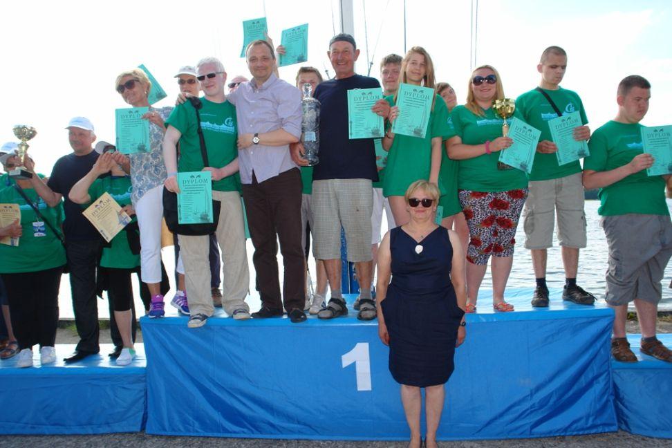 Przeglądasz zdjęcia w artykule: XI  Festiwal Sportów Wodnych Osób Niepełnosprawnych 26 - 28 czerwca 2015