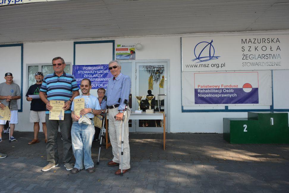 Przeglądasz zdjęcia w artykule: XII Puchar Polski Żeglarzy z Niepełnosprawnością III Edycja 28 – 30 sierpnia 2015 r.