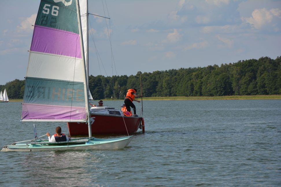 """Przeglądasz zdjęcia w artykule: """"Sprawni żeglarze"""" - Warsztaty Sportowo-rehabilitacyjne 14 - 27 sierpnia 2015r."""