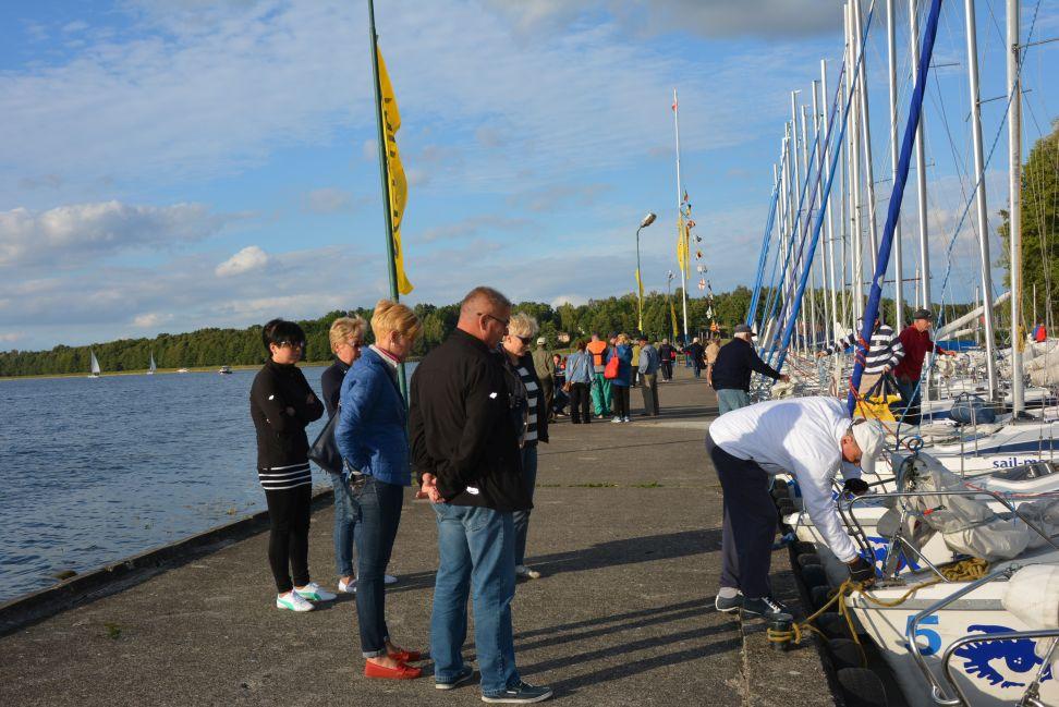 Przeglądasz zdjęcia w artykule: II Żeglarskie Mistrzostwa Polski Seniorów 60+ 18 - 20 września 2015 r.
