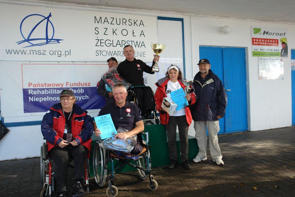 Przeglądasz zdjęcia w artykule: XII Puchar Polski Żeglarzy z Niepełnosprawnością IV Edycja 25 – 27 września 2015 r.